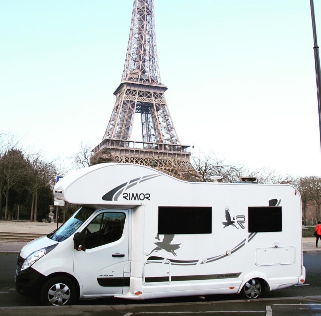 ruta con autocaravana en Paris   Autocaravanas Tarragona