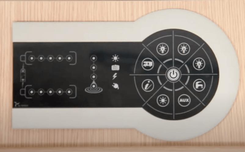 Como funciona el panel de control | Autocaravanas Tarragona